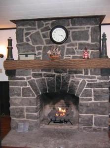 LL apt fireplace
